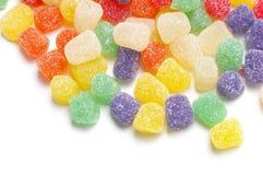 разбросанные конфеты Стоковая Фотография