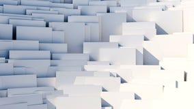 Разбросанные кубы - предпосылка конспекта 8k Стоковые Изображения RF