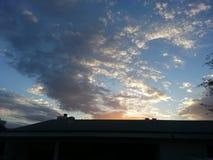 разбросанные облака Стоковые Изображения