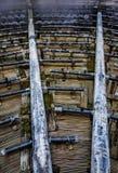 Разбрызгивающие головки стояка водяного охлаждения воды Стоковая Фотография