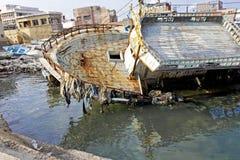 развалина корабля Стоковое Изображение