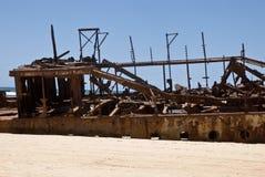 развалина корабля Стоковые Фотографии RF