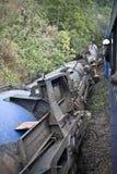 развалина поезда Стоковое фото RF
