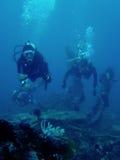 развалина скуба святой водолазов cristopher Стоковая Фотография