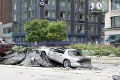 развалина pontiac Стоковое Фото