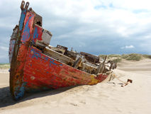 Развалина корабля на этап ворон стоковые фотографии rf