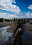 Развалина корабля Hunstanton Стоковое Фото