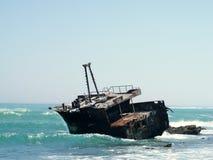 Развалина Meisho Maru стоковое изображение rf