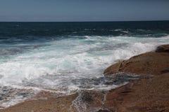 Развевает в Dee почему пляж Австралия Стоковые Фотографии RF