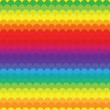 Развевает краска радуги Стоковая Фотография