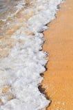 Развевайте на пляже Стоковые Фотографии RF