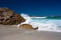Разбивая волна Стоковая Фотография RF