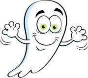 Развевать призрака шаржа счастливый Стоковая Фотография