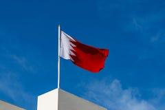 Развевать флага Бахрейна Стоковое фото RF