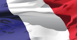 Развевать флага Франции Стоковые Фото