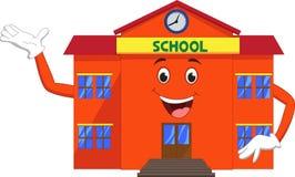 Развевать шаржа школы Стоковое Изображение RF