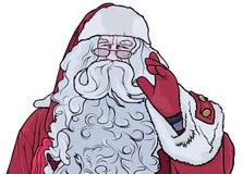 развевать claus santa Стоковая Фотография RF