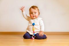 Развевая младенец стоковая фотография