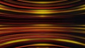 Развевая нашивки мерцающего света двигая бесконечно и параллели друг к другу Абстрактная красочная предпосылка с изогнутый иллюстрация вектора