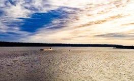 Развевая река Стоковое Фото
