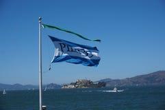 Развевая флаг Стоковые Изображения RF