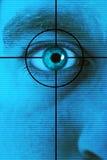 развертка глаза стоковые изображения