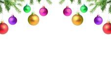 разветвляет игрушка рождества стоковые изображения