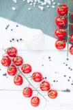 разветвляют томаты вишни Стоковые Изображения RF