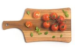 разветвляют томаты вишни Стоковое Фото