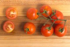 разветвляют томаты вишни Стоковое фото RF