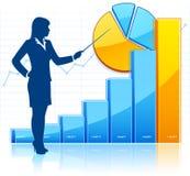 Развитие бизнеса иллюстрация вектора