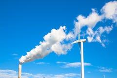 Развитие концепции экологичности Проблемы климата Стоковое фото RF