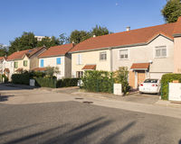 Развитие малых домов стоковое изображение rf