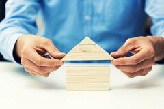 Развитие недвижимости и концепция операций с ценными бумагами стоковое изображение rf