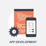 Развитие App Стоковое Изображение RF