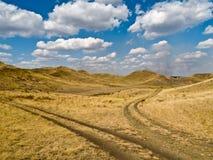 развлетвлянная дорога Стоковые Фотографии RF