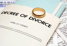 развод Стоковое Фото
