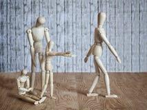 Развод в семье Стоковая Фотография RF