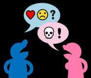Развод или аргумент Стоковые Фото