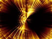 Развёртка вращения взрыва Стоковое Изображение RF