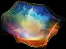 Развёртка частицы разума Стоковое Изображение RF