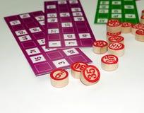 Развлечения играя в азартные игры игры Tombala Bingo Lotto Стоковое Фото