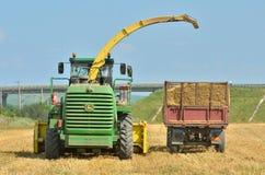 Разгржать жатки зернокомбайна Стоковое фото RF