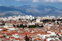 разделение открытки Хорватии Стоковые Изображения