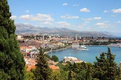 Разделение, Хорватия стоковое фото rf