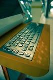 Разделенный компьютер тонизируя кнопки Стоковые Фото