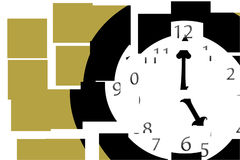 разделите время Стоковое Изображение