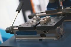 Разделите для обрабатывать машины металла, промышленной предпосылки стоковое изображение