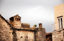 Разделите, Хорватия - старый городок стоковые фото