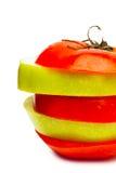 Разделы плодоовощ Стоковые Изображения
